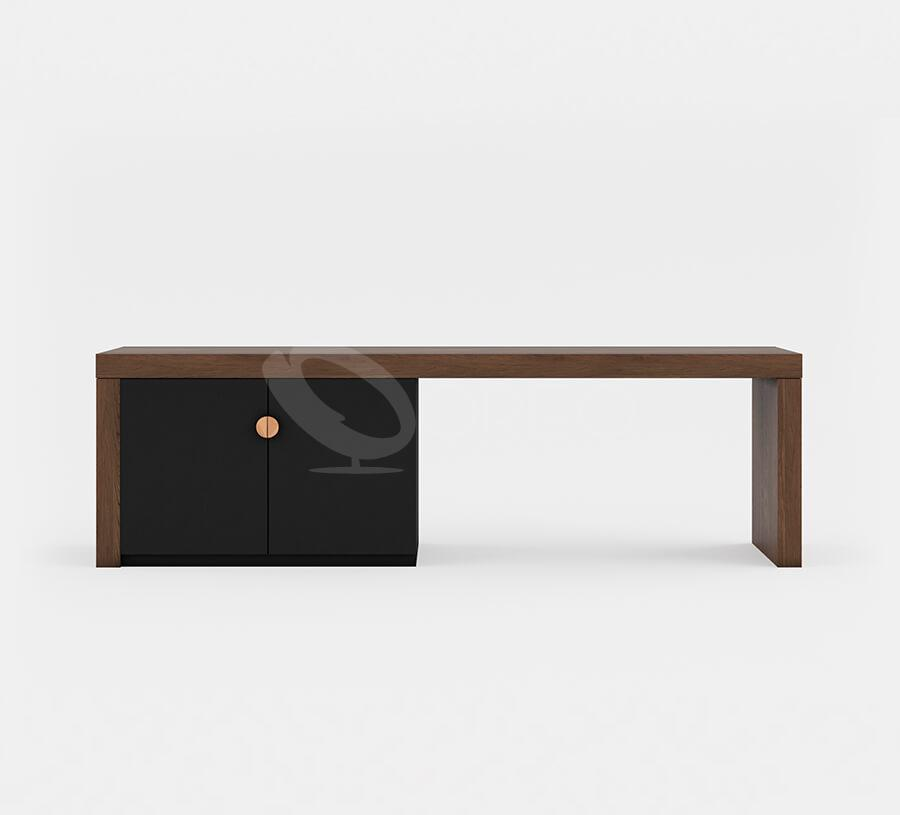 Deluxe Desk wtih Minibar Cabinets